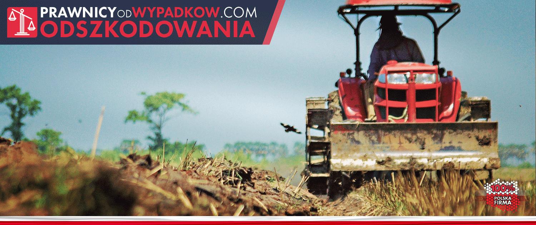 maszyna rolnicza na gospodarstwie rolnym
